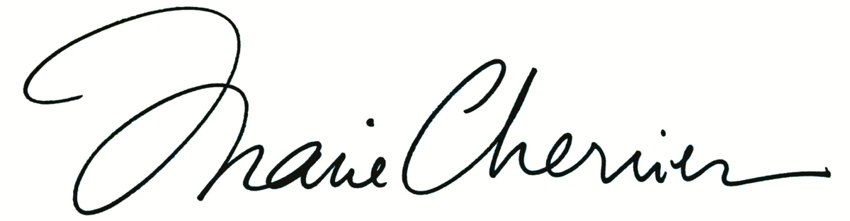 Le site officiel de Marie Cherrier